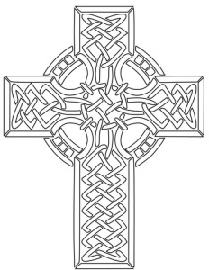 celtic-cross-coloring-page