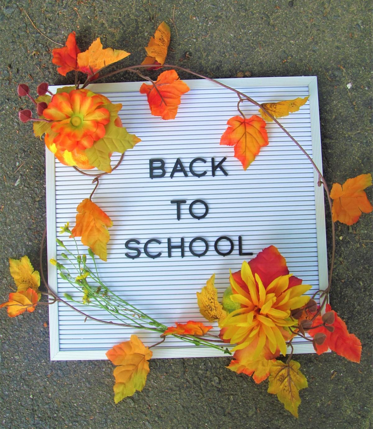 Free Back to SchoolDevotional